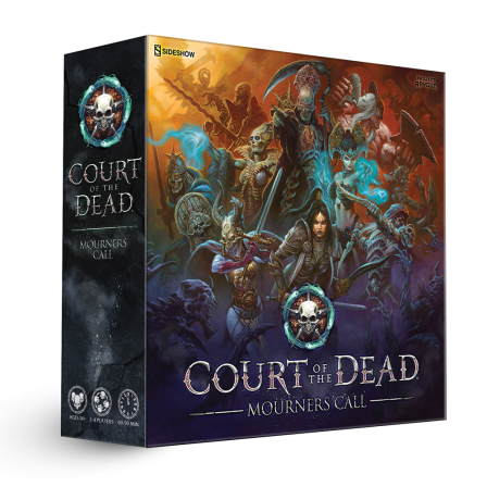 Project Raygun- Court of the Dead: Mourner's Call Box Art