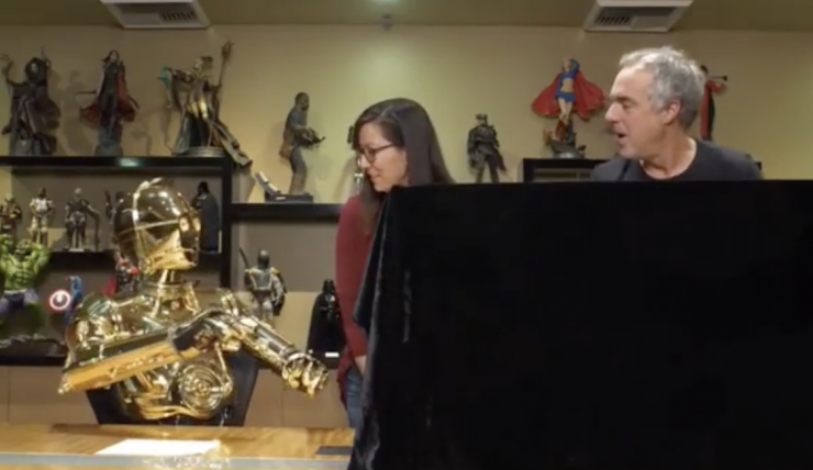 Titus Welliver and C-3PO Reveal Jabba the Hutt™ Deluxe Sixth Scale Set on Sideshow Live!