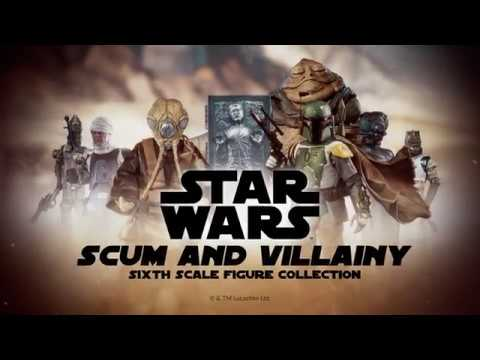 See the Star Wars: Scum and Villainy Sixth Scale Collection Video