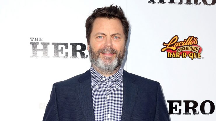 Nick Offerman Joins Good Omens Cast