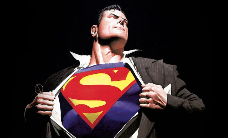 The Man of Steel Fine Art Lithograph by Alex Ross is Ready to Save the Day