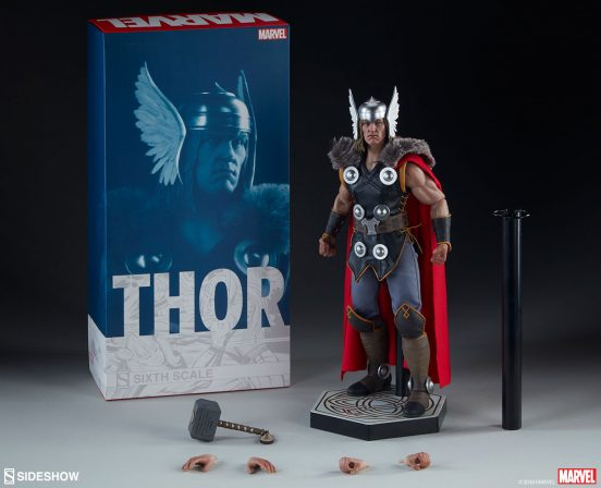 New Photos of the Thor Sixth Scale have arrived from Asgard!
