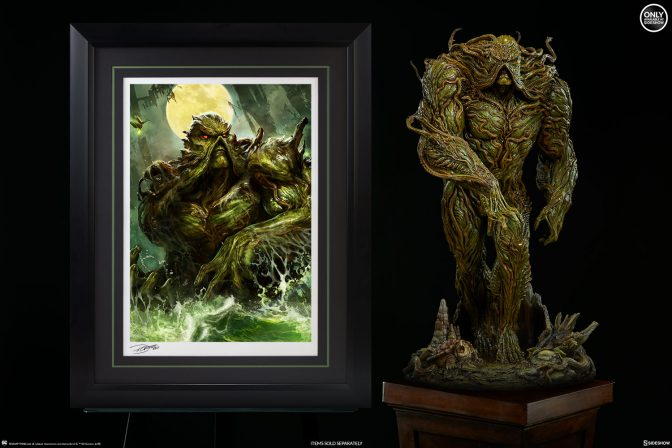 The Swamp Thing Premium Art Print Emerges from the Mire!