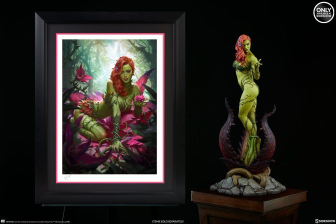 Grow Your DC Collection with the Poison Ivy Premium Art Print!