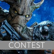 Sideshow Live Rocket and Groot Giveaway!