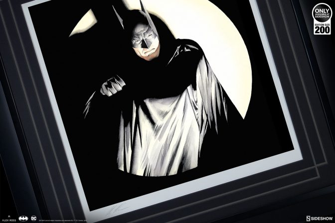 Beware The BATMAN! Fine Art Lithograph by Alex Ross