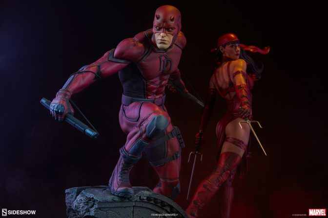 Bring Justice to Hell's Kitchen with the Daredevil Premium Format™ Figure