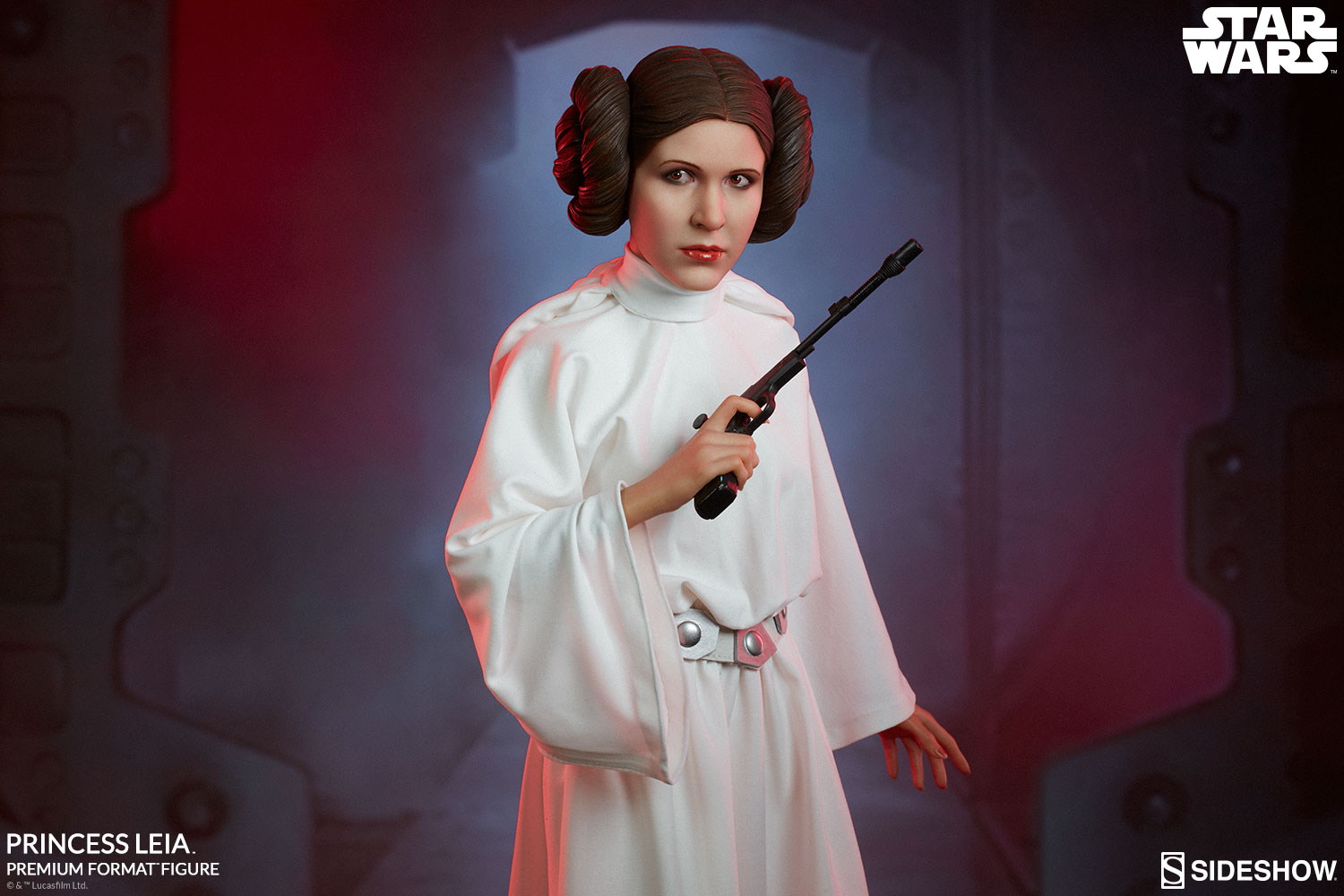 the princess leia premium format figure is a new hope for. Black Bedroom Furniture Sets. Home Design Ideas