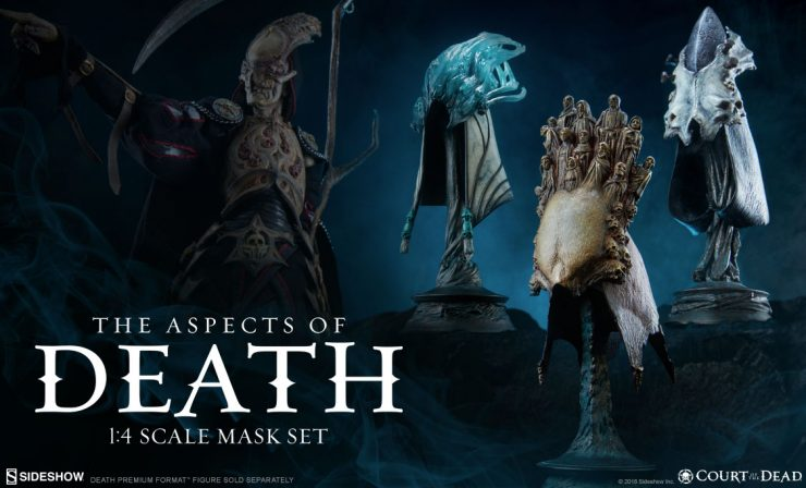 The Aspects of Death 1/4 Scale Mask Set