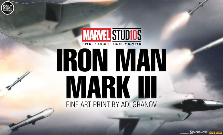 Iron Man Mark III Fine Art Print