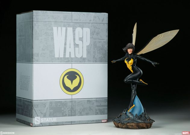 New Photos of the Wasp Statue!