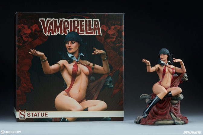 Vampirella Statue New Photos