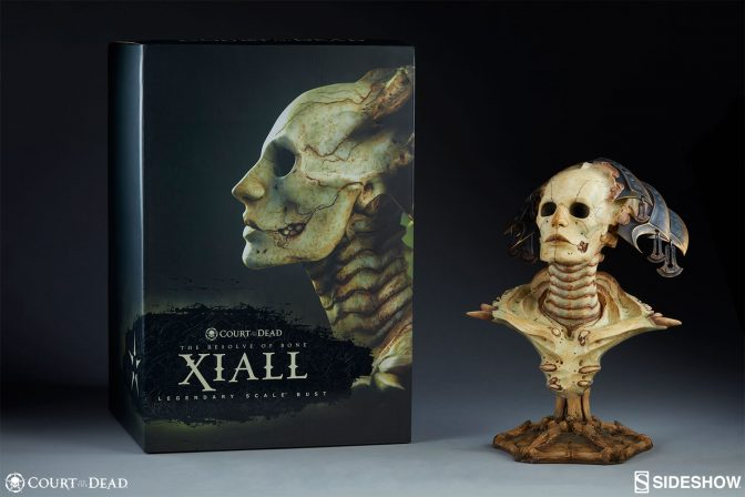 New Photos of the Xiall Bust have arrived from the Underworld