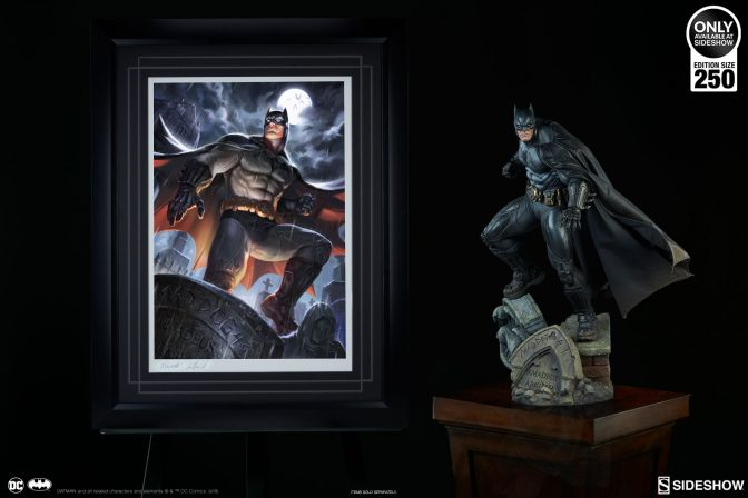 The Batman Premium Art Print Arrives to Protect Your DC Collection