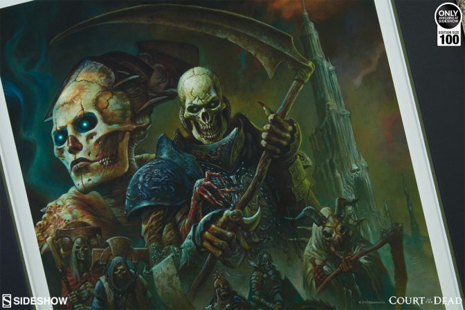 Show Your Resolve with the Strength of Bone Premium Art Print by Alex Horley