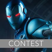 Iron Man Stealth Suit Statue Giveaway