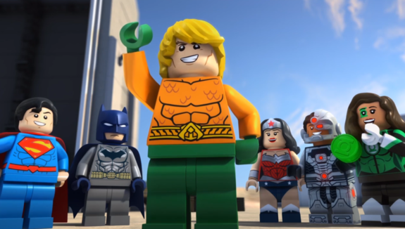 First Trailer for Aquaman: Rage of Atlantis LEGO Movie