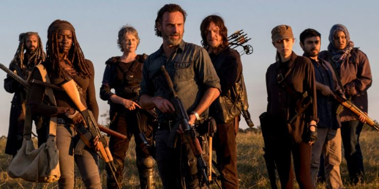 The Walking Dead Promotes Two Series Regulars