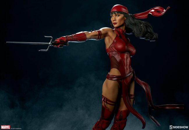 The Elektra Premium Format™ Figure- Add an Assassin to Your Collection!