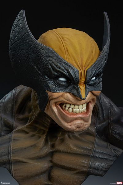 Unleash the Wolverine Life-Size Bust in Your Collection!
