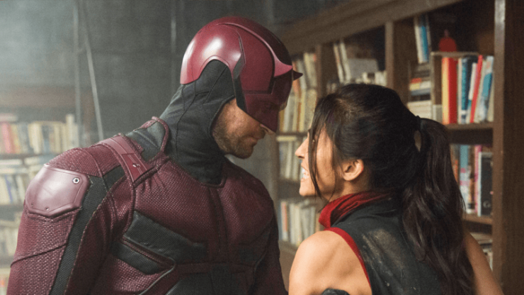 Daredevil and Elektra Then & Now- Let Your Geek Sideshow Podcast