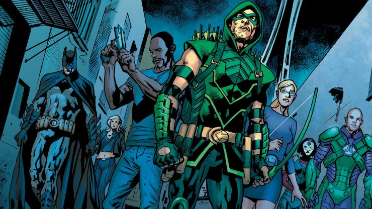 Green Arrow Then & Now- Let Your Geek Sideshow Podcast