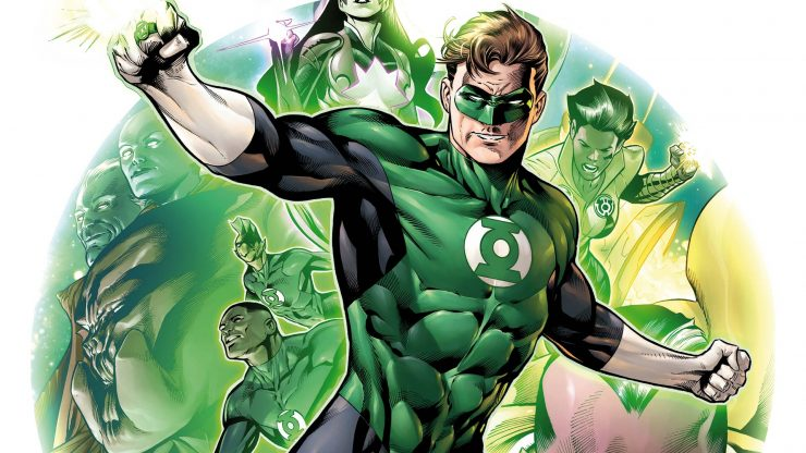 DC Announces Massive Creative Changes, Green Lantern Corps Movie
