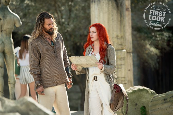 Entertainment Weekly Reveals New Aquaman Cast Photos