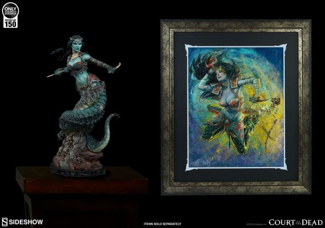 Gallevarbe: Eviscerator Fine Art Print by Olivia