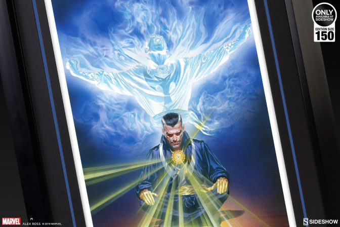 Master the Mystic Arts with the Doctor Strange Omnibus Fine Art Lithograph by Alex Ross