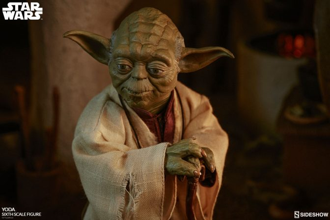 Feel the Force in Your Collection with the Yoda Sixth Scale Figure