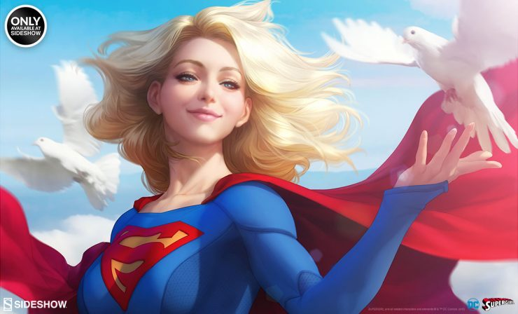 Supergirl Fine Art Print