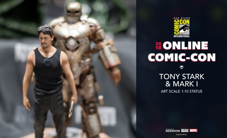 Iron Studios Tony Stark and Mark 1 Art Scale 1:10 Statue