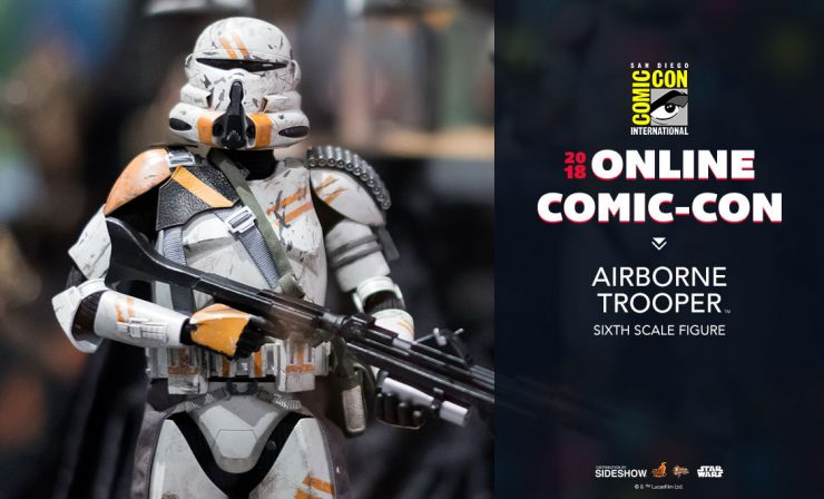 Hot Toys Airborne Trooper Sixth Scale Figure