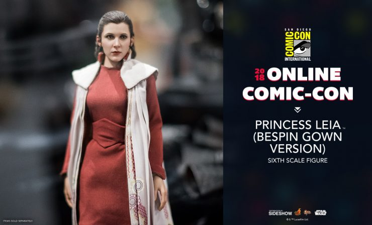 Hot Toys Princess Leia (Bespin Gown Version) Sixth Scale Figure