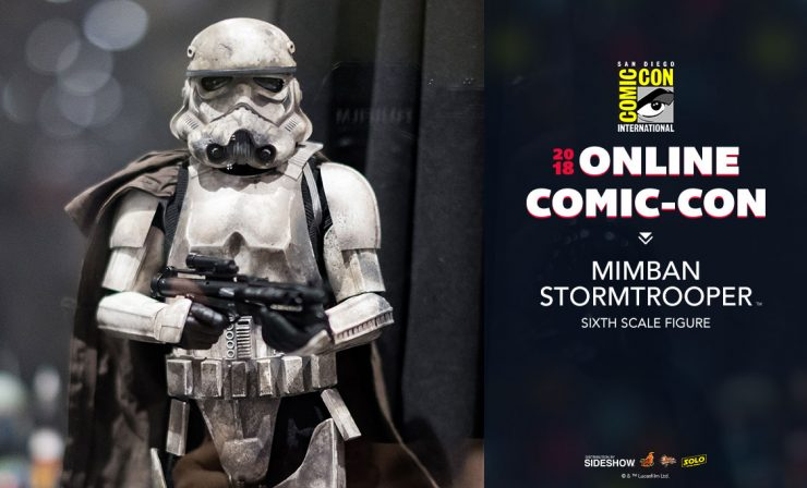 Hot Toys Mimban Stormtrooper Sixth Scale Figure