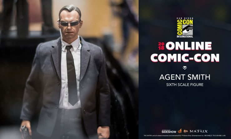 Hot Toys Agent Smith Sixth Scale Figure