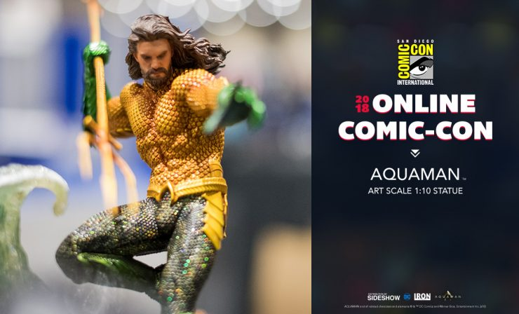 Iron Studios Aquaman 1:10 Battle Series Diorama Statue