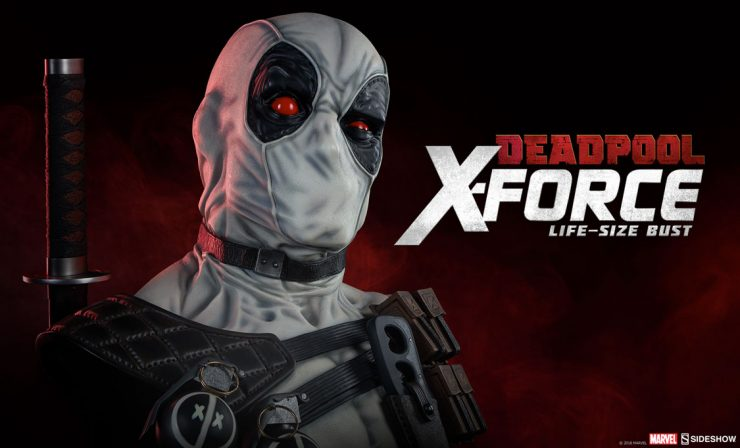 Deadpool X-Force Life-Size Bust