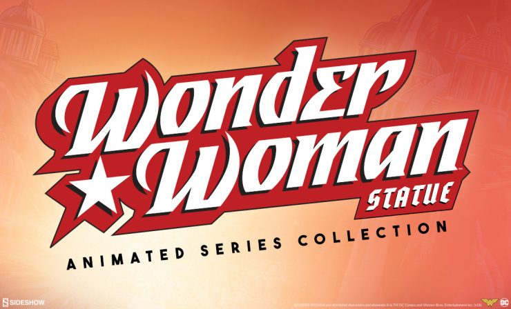 Wonder Woman Statue – Animated Series Collection
