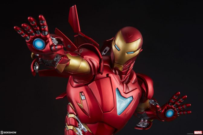 Upgrade Your Collection with the Iron Man Extremis Mark II Statue- Adi Granov Artist Series