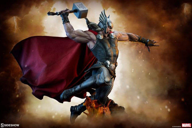 Summon the Thunder with the Thor: Breaker of Brimstone Premium Format™ Figure