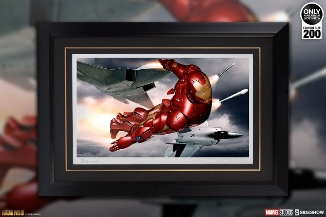 Suit Up with the Iron Man Mark III Fine Art Print by Adi Granov