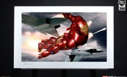 Iron Man Mark III Fine Art Print by Adi Granov
