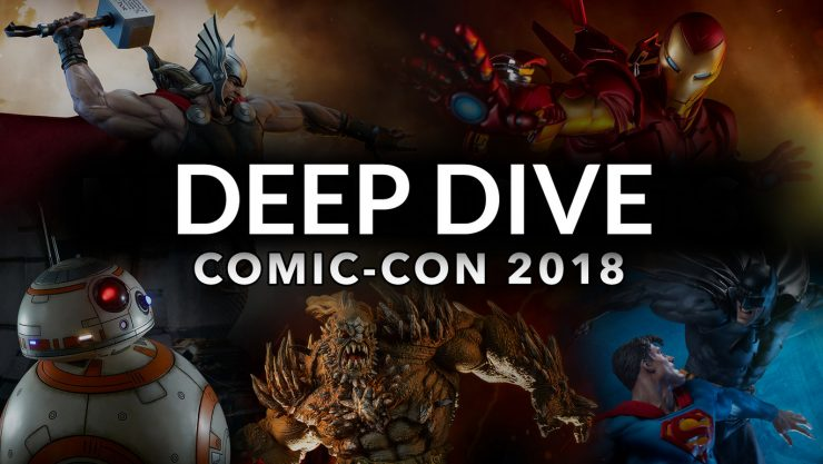 See Sideshow's New Product Highlights for Comic-Con 2018