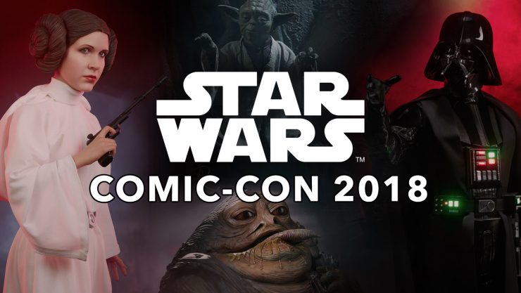 See the Newest Star Wars Collectibles at Sideshow For Comic-Con 2018!