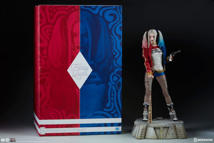 Harley Quinn Premium Format™ Figure New Photos and Video are here!