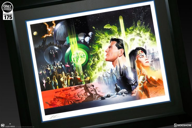 Witness the Heroic 'History of the DC Universe' with a New Alex Ross Fine Art Lithograph