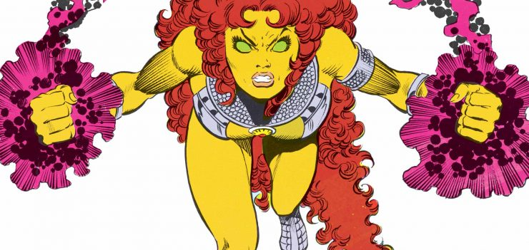 Starfire: Super Power Play-by-Play