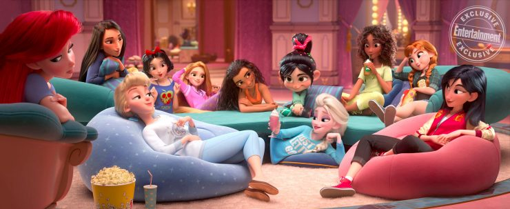 Modern Disney Princesses in Wreck-It Ralph 2 Image